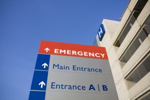Attractive Hospital Wayfinding Signage
